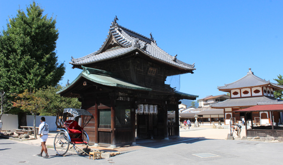 (HIROSHIMA) Sightseeing Itsukushima Shrine with English speaking RICKSHAW driver