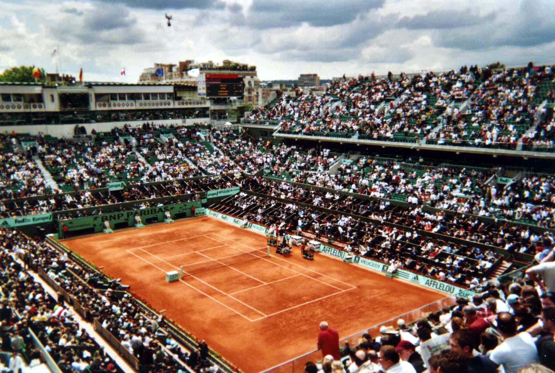 テニス全仏オープン
